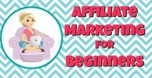Affiliate Marketing for Beginners / Affiliate marketing for beginners - sharing tips, techniques, and the best resources for making money by blogging as an affiliate marketer.