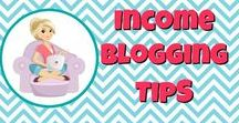Income Blogging Tips / Income blogging tips that will help you reach your goal of making a full-time $$$ from your blog!