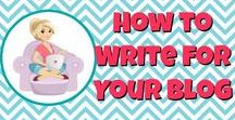 Write Awesome Posts / Write awesome posts, get traffic, make money blogging...rinse and repeat!  All about how to write blog posts that readers love and make you the big bucks!