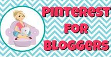 Pinterest for Bloggers / Pinterest for bloggers - because we love pinning and want to rock our strategy!