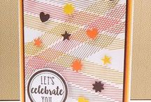 Elemental Stripes stamp set / Elemental Stripes stamp set by Reverse Confetti - March 2017