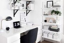 Career Minded / For the career minded ladies amongst us: how to style an office - career and work tips and inspiration and motivation to get back to work!