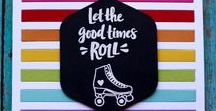 Rollin' stamp set / Rollin' stamp set by Reverse Confetti