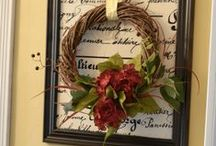 Wreaths for all Seasons / Spring | Summer | Fall | Winter | Christmas | Holiday | Unique Designs