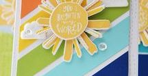 My Sunshine stamp set / Reverse Confetti stamp set: My Sunshine (March 2018 release)