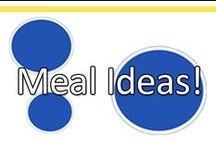 Meal Ideas: Dinner, Lunch & Breakfast! / Looking for something to cook? You'll find lots of parent- and child-friendly options in here for breakfast, lunch or dinner! / by www.greatstartCONNECT.org