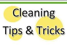 Cleaning Tips & Tricks / Got a mess? Let's clean it up! Here are some tips and tricks to cleaning that any parent will appreciate. You'll find other resources too chore lists, recipes for child-safe cleaners and more! / by www.greatstartCONNECT.org