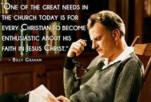 Billy Graham Inspirational / I have the upmost respect for Rev Billy Graham. He is a blessing to this world / by sandy shah