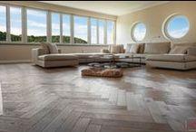 Wood on the Floor / Interiors with floor in the nice lighting.