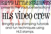 Happy Little Stampers - Tutorials / Tutorials that can be found at our website www.happylittlestampers.com