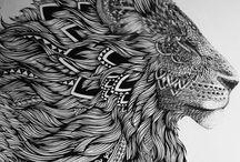 Tattoo hogar chile / Arte a rayas
