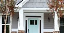 First Impressions / Front doors & porch inspirations to enhance your curb appeal