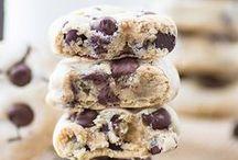 REZEPTE: KEKSE / Knusprige Kekse ob zu Weihnachten oder zum Kaffee und Tee.