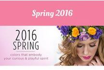 Spring 2016 Collection / Check out the new Spring 2016 Collection from Mineralogie Makeup!