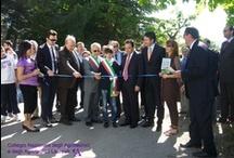 """Mostra mercato del fiore d'Abruzzo / Convegno """"La nuova riforma dell'istruzione"""". Istituto Professionale di Stato per l'Agricoltura e l'Ambiente.  Cepegatti (PE), 30 Aprile 2010"""