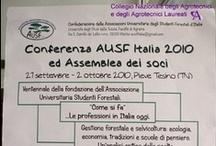 I giovani dell'AUSF parlano di libera professione con Agronomi ed Agrotecnici / Pieve tesino (TN), 30 Settembre 2010
