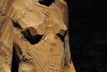 wood sculpture / by figura retoryczna