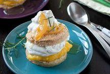 local kitchen desserts / Life is short - eat dessert first.