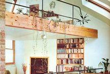 Homely / Tiny houses, DIY decor, books, interiors, fairy lights, cosy nooks...