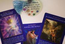 Melek Kartları ve Kitapları / Meleklerle iletişimi öğreten kitaplar ve melek kartları.