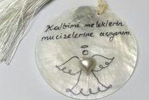 Melekli Magnetler / Birbirinden güzel melekli magnetlerle, melekleriniz her zaman gözünüzün önünde olsun. Size güzel cümlelerini hatırlatsın.