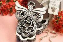 Melek Kutular & Angel Box / Melek formunda kutular. İster dekoratif olarak kullanın ister takılarınızı saklamak için