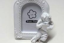 Melekli Çerçeve & Angel Frame / Sevdiklerinizin fotoğraflarını melekler korusun...