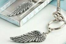 Melekli Anahtarlıklar / Bu melekli anahtarlıklar size hayatınızın en güzel kapılarını açacak.