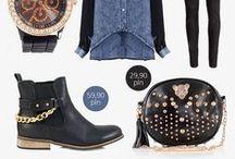 Stylowe inspiracje z BOOTSY / Nasze buty i torebki sprawdzą się w niejednej stylizacji - zarówno w casualowych zestawach, jak i na wieczorne wyjście.