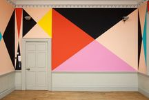 Bold Walls and Colors / Inspiring spaces