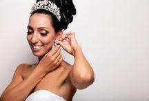 Bridal tiaras Mariee Design / Luxusné svadobné korunky a čelenky zdobené množstvom malých krištálikov