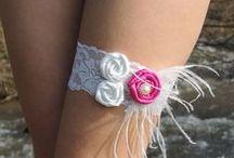 Bridal garters Mariee Design