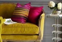 Sofas, Couches, Daybeds, Sofa Beds / by Pamela Burnham
