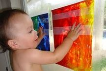 Child Care Activities / Are you running out of ideas to keep the children occupied?