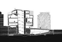 PRSNT : DRAWING / Architectural line drawings, diagrams, site maps, presentation boards, etc.