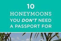 Honeymoon Destination / Our favorite honeymoon destinations. Honeymoon destination ideas, hotels, and locations. http://goo.gl/PNwjEq
