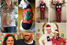 DIY Ugly Christmas Sweater Ideas / DIY Ugly Christmas Sweaters