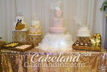 Dessert and Candy Tables by Cakeland Bakery