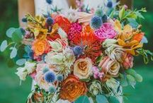 Blooms and Bouquets: Wedding Flowers / http://goo.gl/PTvWp3