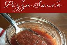 Simple Sauce and Seasoning Recipes / A roundup of recipes for great sauces and seasonings from food blogs, including my own called CookingWithVinyl.com.