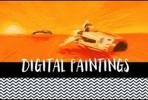 Digital Paintings / Digital paintings and illustrations