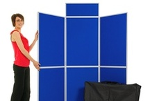 Display Boards | Folding Exhibition Display Boards / Folding display boards and tabletop display boards are a great way to exhibit at a trade show, craft fair or event. Lightweight folding panels available in a large range of vibrant colours make this type of display equipment portable, economical and easy to transport and set up at your marketing event. Buy online at low prices with fast UK delivery.