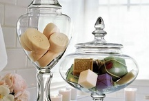 CLOCHE/APOTHECARY/JARS / PUTTING IT UNDER GLASS / by Susan Hadley