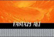 Fantasy Art / Fantasy digital paintings and illustrations. Fan art from books, films and tv programs.