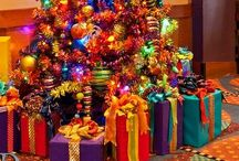 CHRISTMAS TREES / DIFFERENT WAYS TO DECORATE THE TREE / by Susan Hadley