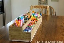 {Home} Organization / by Kimber - The Pinning Mama