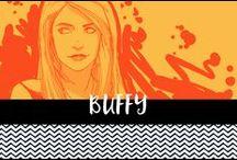 Buffy the vampire slayer Fan Art / Cool buffy fan art. Giles, buffy, Xander, willow, oz, anya etc