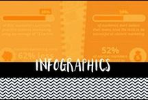Infographics / Infographics - mostly design or digital marketing related.