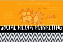 Social Media and Marketing / Social media and digital marketing infographics, blogs and facts