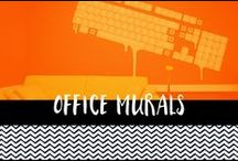 Office Murals and Decoration / Artwork, decals, vinyls and murals for offices and workplaces